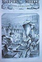 Technology: Factory work-women.  HARPER'S WEEKLY Oct. 13, 1877.  Reference only..