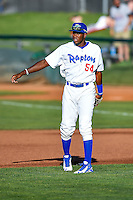 Ibandel Isabel (54) of the Ogden Raptors during the game against the Grand Junction Rockies in Pioneer League action at Lindquist Field on June 20, 2016 in Ogden, Utah. The Rockies defeated the Raptors 5-2. (Stephen Smith/Four Seam Images)