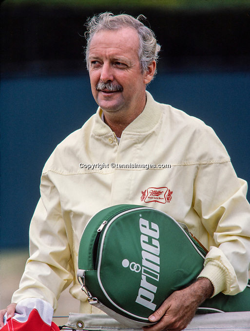 June 29, 1983, London, England, AELTC, All England Club, Wimbledon, Fred Stolle (AUS) <br /> Photo: Tennisimages/Henk Koster