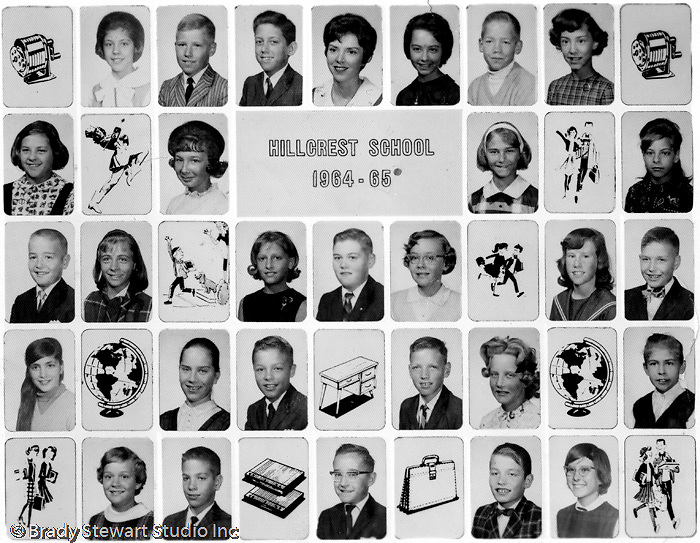 Bethel Park PA:  5th Grade Class at Hillcrest Elementary School on Bethel Church Road.  Miss Crandell was our teacher.  I am struggling with remembering the names... from the bottom up; Mike Stewart, Jeff Sweet, Mike Tarbet, Cathy Shoemaker, Steven Stewart, Tom Tomkins
