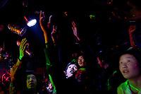 Nightclub in Qinghai, Tibetan Plateau. China