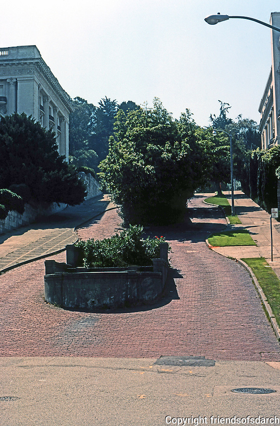 San Francisco: Pacific Heights Street.  (Don't know exact location.)