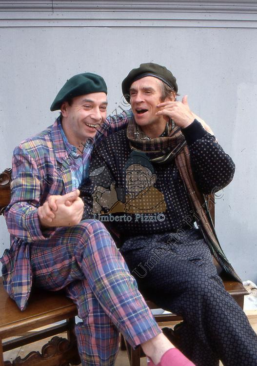 LINDSAY KEMP E RUDOLF NUREYEV<br /> MANTOVA 1988