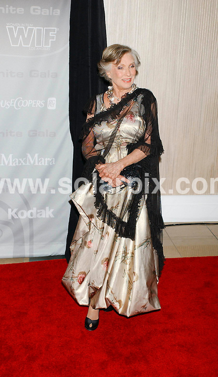 **ALL ROUND PICTURES FROM SOLARPIX.COM**.**SYNDICATION RIGHTS FOR UK, SPAIN, PORTUGAL, AUSTRALIA, S.AFRICA & DUBAI (U.A.E) ONLY**.arrivals for the 2008 Women In Film Crystal + Lucy Awards held at the Beverly Hilton Hotel, Beverly Hills, CA, USA. 17th June 2008..This pic: Cloris Leachman..JOB REF: 6696 PHZ /GL    DATE: 17_06_2008.**MUST CREDIT SOLARPIX.COM OR DOUBLE FEE WILL BE CHARGED* *UNDER NO CIRCUMSTANCES IS THIS IMAGE TO BE REPRODUCED FOR ANY ONLINE EDITION WITHOUT PRIOR PERMISSION*