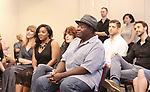 Chuck Cooper and cast attends the Meet & Greet for the Manhattan Theatre Club's Broadway Premiere of 'Prince of Broadway' at the MTC Studios on July 20, 2017 in New York City.