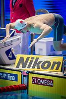 Sun Yang of China in act at the men's 200m freestyle final during 18th Fina World Championships Gwangju 2019 at Nambu University Municipal Aquatics Centre, Gwangju, on 23  July 2019, Korea.  Photo by : Ike Li / Prezz Images