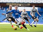 Rangers v St Mirren: Ryan Kent gets ahead of Richard Tait