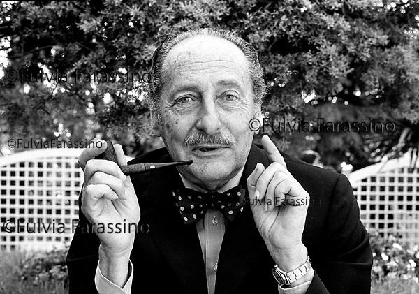 Vittorio Cottafavi al festival di Cannes 1985