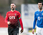 St Johnstone v Kilmarnock…24.11.18…   McDiarmid Park    SPFL<br />Captains Kris Boyd and Joe Shaughnessy<br />Picture by Graeme Hart. <br />Copyright Perthshire Picture Agency<br />Tel: 01738 623350  Mobile: 07990 594431