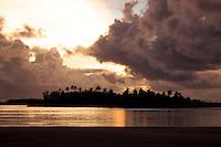 Sunset over the Lagoon, Cocos Keeling Islands, Indian Ocean