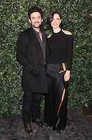 Morgan Spector and Rebecca Hall<br /> at the 2017 Charles Finch & CHANEL Pre-Bafta Party held at Anabels, London.<br /> <br /> <br /> ©Ash Knotek  D3227  11/02/2017