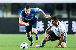 FC Schalke Midfielder Yevhen Konoplyanka (L) fights for the ball with Besiktas Istambul Midfielder Oguzhan Ozyakup (R) during the Friendly Football Matches Summer 2017 between FC Schalke 04 Vs Besiktas Istanbul at Zhuhai Sport Center Stadium on July 19, 2017 in Zhuhai, China. Photo by Marcio Rodrigo Machado / Power Sport Images