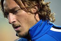 Ancona 17 Novembre 2003 <br /> Italia Romania 1-0 <br /> Francesco Totti <br /> Foto Andrea Staccioli Insidefoto