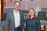 SAN FRANCISCO, CA - October 16 - Greg Cosko and Janis MacKenzie attend Kilroy Realty / US Olympic Sailing Cocktail Reception 2019 on October 16th 2019 at Kilroy Innovation Center in San Francisco, CA (Photo - Andrew Caulfield for Drew Altizer Photography)