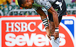 Fiji vs Scotland during Day 1 of the Cathay Pacific / HSBC Hong Kong Sevens 2012 at the Hong Kong Stadium in Hong Kong, China on 23rd March 2012. Photo © Victor Fraile  / The Power of Sport Images