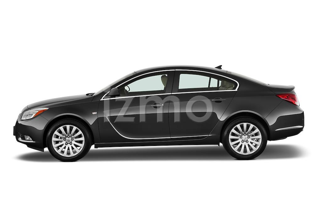 Driver side profile view of a 2011 Buick Regal CXL Sedan