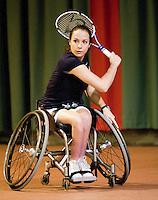 4-1-09, Renkum, NK rolstoeltennis,    Jiske Griffioen