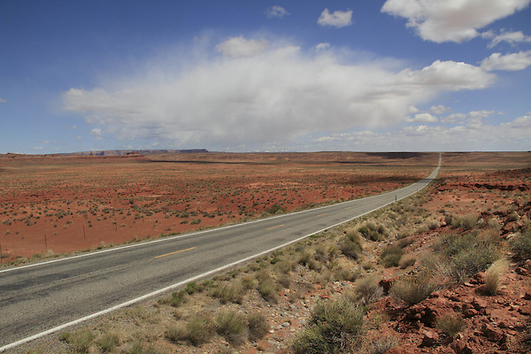 Highway 316  leading to Goosenecks State Park, Goosenecks Reserve, Mexican Hat, Utah, USA. . John offers private photo tours in Monument Valley and throughout Arizona, Utah and Colorado. Year-round.