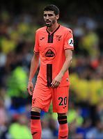 25th September 2021; Goodison Park, Liverpool, England; Premier League football, Everton versus Norwich; Pierre Lees-Melou of Norwich City