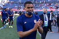 DENVER, CO - JUNE 3: Reggie Cannon of the United States during a game between Honduras and USMNT at EMPOWER FIELD AT MILE HIGH on June 3, 2021 in Denver, Colorado.