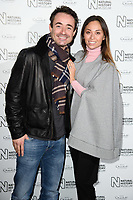 Jo McFadden and Katya Jones<br /> arriving for the Natural History Museum Ice Rink launch party 2017, London<br /> <br /> <br /> ©Ash Knotek  D3340  25/10/2017