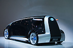 """December 30, 2011, Tokyo, Japan - Toyota Motor Corp.'s """"Fun-Vii"""" vehicle is displayed at the 42nd Tokyo Motor Show. The show opens to the general public from December 3-11. (Photo by Christopher Jue/AFLO)"""