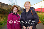 Enjoying a walk on the Tralee Greenway on Sunday l to r: Tricia O'Brien and Joan Durney.