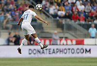 Chester, PA - Monday May 28, Antonee Robinson during an international friendly match between the men's national teams of the United States (USA) and Bolivia (BOL) at Talen Energy Stadium.