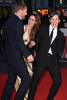 """Michael Smiley and Cillian Murphy<br /> at the London Film Festival 2016 premiere of """"Free Fire at the Odeon Leicester Square, London.<br /> <br /> <br /> ©Ash Knotek  D3182  16/10/2016"""