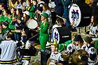 January 24, 2020; Leprechaun Lynette Wukie at Compton Family Ice Arena. (Photo by Matt Cashore/University of Notre Dame)