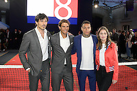 Andres VELENCOSO SEGURA - Rafael NADAL - Gregory VAN DER WIEL - Marie-Ange CASTA - Tommy X Nadal Event - Tommy Hilfinger - Paris 18 mai 2016 - FRANCE