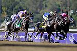 Nov. 03, 2012 - Arcadia, California, U.S - Shanghai Bobby (KY) ridden by Rosie Napravnik and trained by Todd Pletcher, wins theGrey Goose Breeders' Cup Juvenile (Grade I) at Santa Anita Park in Arcadia, CA. (Credit Image: © Ryan Lasek/Eclipse/ZUMAPRESS.com)