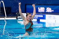 KEKKI Pinja<br /> FIN<br /> Solo Tech Final<br /> Artistic Swimming<br /> Budapest  - Hungary  11/5/2021<br /> Duna Arena<br /> XXXV LEN European Aquatic Championships<br /> Photo Pasquale Mesiano / Deepbluemedia / Insidefoto