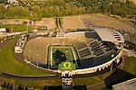 Aerial View of Autzen Stadium, Eugene, Oregon