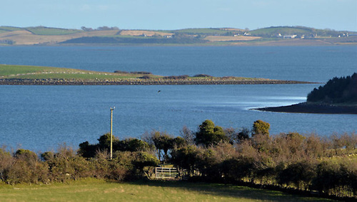 File image of Strangford Lough in Co Down