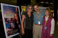 August 29,  2003, Montreal, Quebec, Canada<br /> <br /> Genevieve Bujold , actress (L)<br /> David Folder, Director (M) and<br /> Victoria Paige Meyerink, Producer (R)<br /> at the Press conference for the movie  FINDING HOME presented in the official competition of the 2003 World Film Festival<br /> <br /> The Festival runs from August 27th to september 7th, 2003