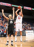 Virginia women's basketball player Chelsea Shine