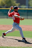 Josh Blanco - Los Angeles Angels - 2009 spring training.Photo by:  Bill Mitchell/Four Seam Images