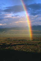 Rainbow over Autumn Tundra, Denali National Park, Alaska