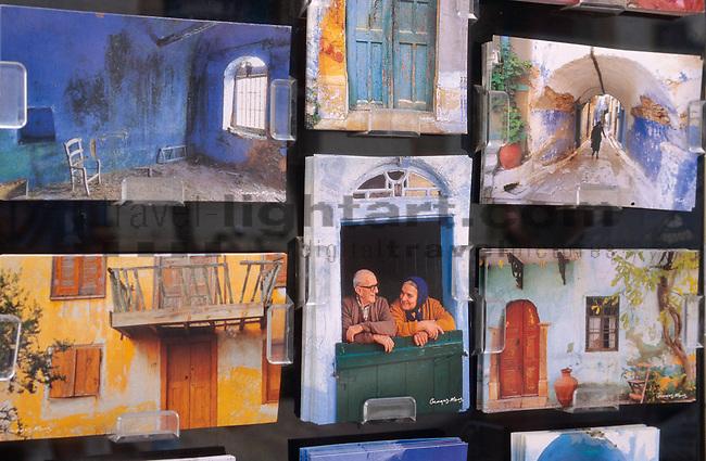 Postkarten, Postcards, Andenken, Souvenir, Souvenirs, Nicosia, Cyprus, Zypern