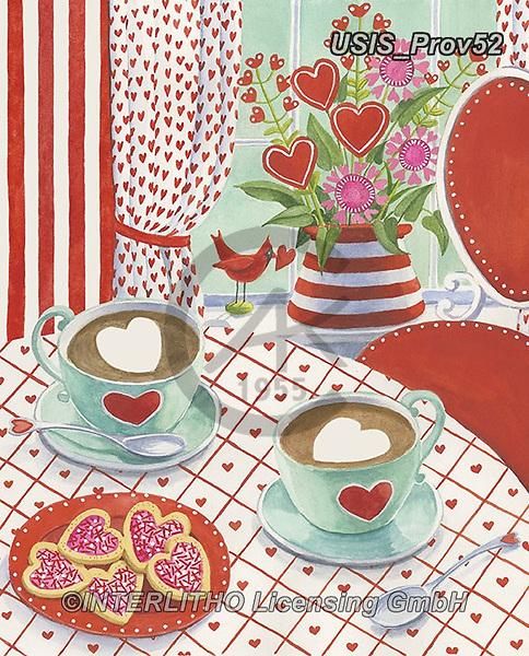 Ingrid, VALENTINE, VALENTIN, paintings+++++,USISPROV52,#v#, EVERYDAY,tea,coffee