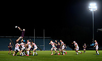 25 September 2020; Sean O'Brien of Leinster A wins possession in the lineout during the A Interprovincial Friendly match between Leinster A and Ulster A at the RDS Arena in Dublin. Photo by Ramsey Cardy/Sportsfile/Dicksndigital
