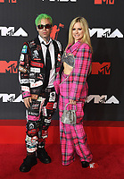 Avril Lavigne, Mod Sun attend the 2021 MTV Video Music Awards at Barclays Center on September 12, 2021 in the Brooklyn borough of New York City.<br /> CAP/MPI/IS/JS<br /> ©JSIS/MPI/Capital Pictures