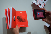 """Rome, 16/06 to 24/10/2020. Visiting and documenting the Palazzo delle Esposizioni's exhibition """"Tra Munari e Rodari"""". The event, part of the Rodari Year Celebrations, was set up by the Biblioteche di Roma. From the organisers press release: «[…] The project, in collaboration with Corraini Edizioni, sets out to pay tribute to the two artists and to celebrate their human and intellectual encounter. […] Ten panels use poetry and immediacy to tell the story of the points of contact between the two artists, a fantastic couple who unleashed the pleasure of invention, of imagination and of creativity, making them unique figures in the Italian artistic panorama of the 20th century […]».<br /> «Bruno Munari (1907-1998) was one of the 20th century's leading exponents of art, design and graphic art. He always devoted his creative work to experimentation, paying special attention to the world of children and their games. His creations in the field of painting, sculpture, design, photography and education embrace a myriad styles in pursuit of the thread of his highly personal originality» (1.).<br /> Gianni Rodari (1920-1980) was a writer, journalist, teacher and educationalist. In 1944, Rodari joined the Communist Party and participated in the Italian Resistance movement (Partigiani). In the 50's he began writing what will become the most famous part of his work: the children's literature, notably the Adventures of Cipollino (""""The main theme is the struggle of the underclass and the powerful, good versus evil and the importance of friendship in the face of difficulties"""", 2.). His books have been translated into numerous languages and in 1970 Rodari received the biennial Hans Christian Andersen Medal, (AKA Nobel prize of children's books). He is considered as Italy's most important 20th-century children's author.<br /> 1. http://bit.do/fKt3Y<br /> 2. http://bit.do/fKt35<br /> https://en.wikipedia.org/wiki/Bruno_Munari<br /> Catalogue http://bit.do/fKt4k<br /> Videos: http://bit."""