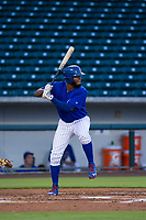 AZL Cubs left fielder Rafael Mejia (13) at bat against the AZL Giants on July 17, 2017 at Sloan Park in Mesa, Arizona. AZL Giants defeated the AZL Cubs 12-7. (Zachary Lucy/Four Seam Images)
