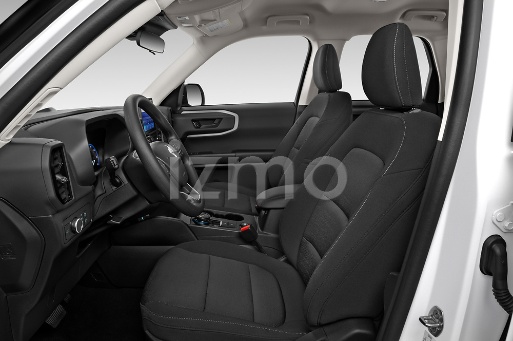 Front seat view of 2021 Ford Bronco-Sport Base 5 Door SUV Front Seat  car photos