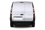 Straight rear view of a 2013 - 2014 Renault Kangoo Express Maxi 5 Door Mini Mpv.