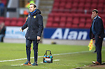 St Johnstone v Motherwell…17.12.16     McDiarmid Park    SPFL<br />Motherwell assistant James McFadden<br />Picture by Graeme Hart.<br />Copyright Perthshire Picture Agency<br />Tel: 01738 623350  Mobile: 07990 594431