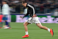 Federico Bernardeschi of Juventus warms up ahead the Uefa Champions League 2018/2019 round of 16 second leg football match between Juventus and Atletico Madrid at Juventus stadium, Turin, March, 12, 2019 <br />  Foto Andrea Staccioli / Insidefoto