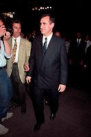 Montreal (Qc) CANADA - 1995 File Photo - April 1995 - Bloc Quebecois convention,Lucien Bouchard